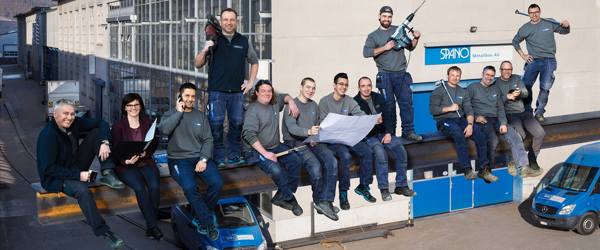 Spano Metallbau AG Team